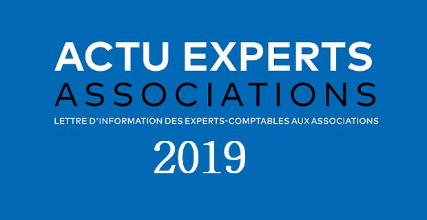 Les lettres Actu Experts Associations 2019