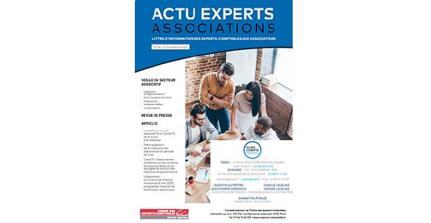 Actu Experts Associations N°54 – 2ème Trimestre 2020
