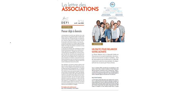 La lettre des Associations N°54 – avril – mai 2021