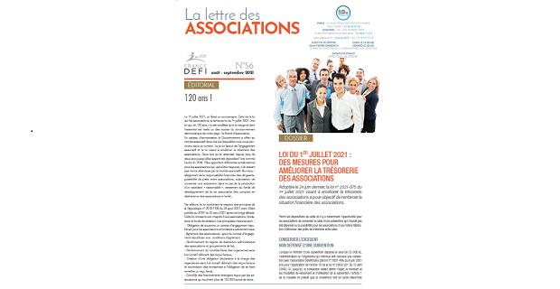 La lettre des Associations N°56 – août - septembre 2021